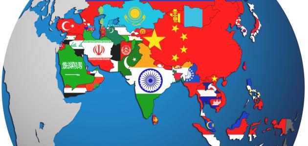 الدول الاسيوية