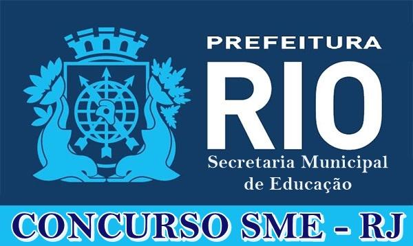 Concurso SME RJ - Professor Adjunto de Educação
