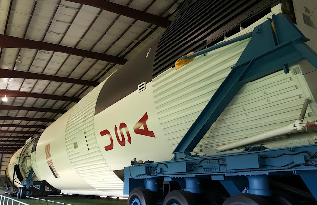 Saturn V at Rocket Park - Space Center Houston