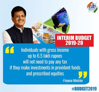 budget-2019-20-it-no-tax-upto-6-lakh-50-thousand