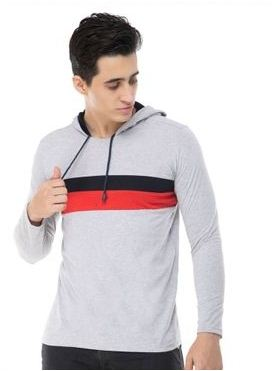 Stylish Cotton Blend Hooded Tees