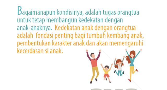 Kedekatan Antara Anak dan orangtua itu Penting, Lakukan 7 Hal ini Agar anak dekat dengan Orangtua