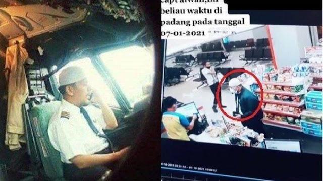 Cerita Kebaikan Kapten Afwan Pilot Sriwijaya Air SJ182 yang Bikin Haru, Jajanin Staf Bandara