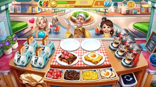 jogo de cozinhar para android com hack de dinheiro Infinito