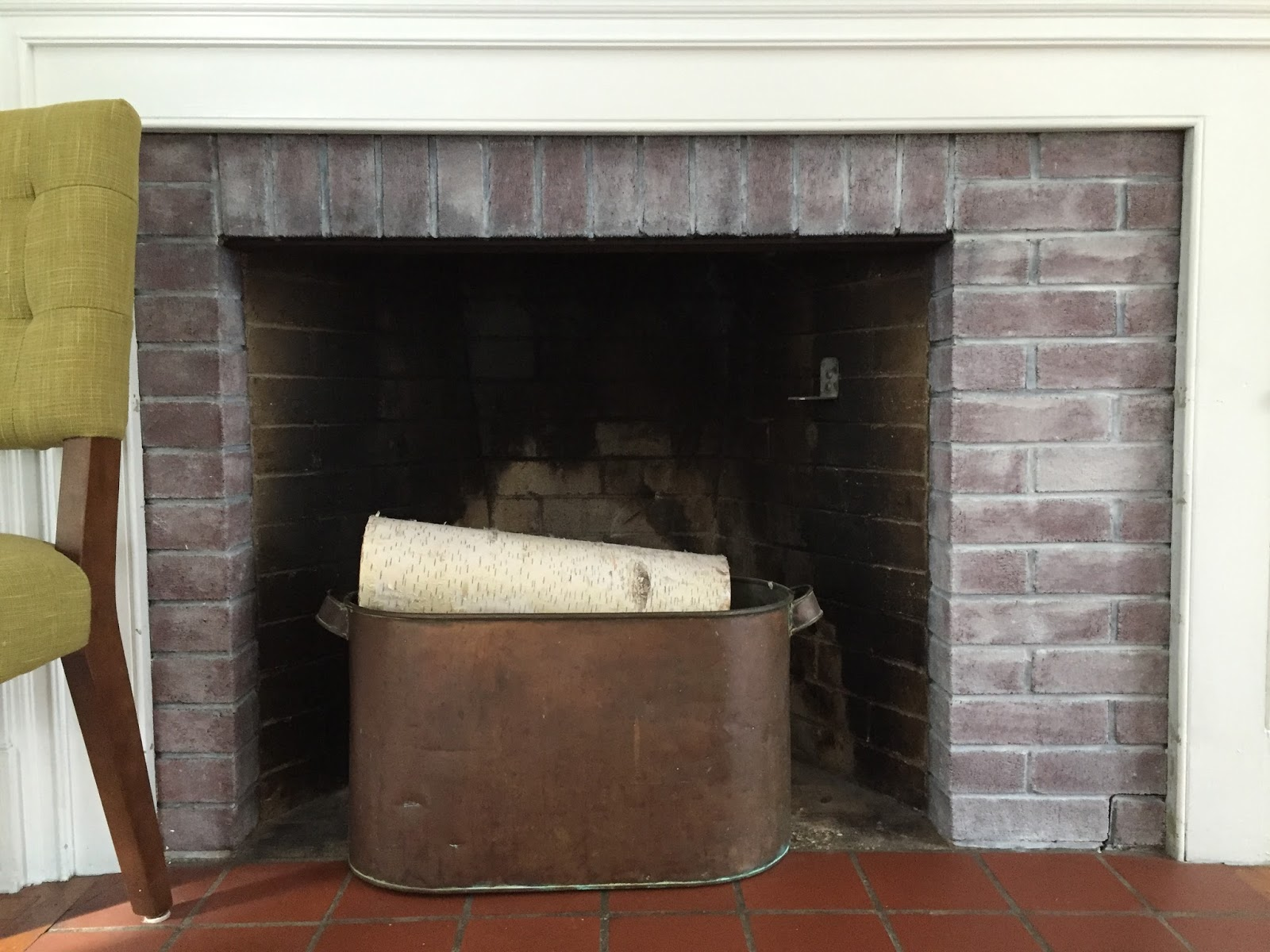 life to the brim fireplace refresh using the power of paint