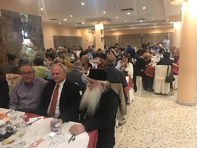 Ο Γιάννης Ανδριανός στην εκδήλωση του ΚΑΠΗ του Δήμου Ναυπλιέων