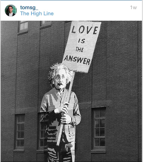 religious things of new york love is the answer