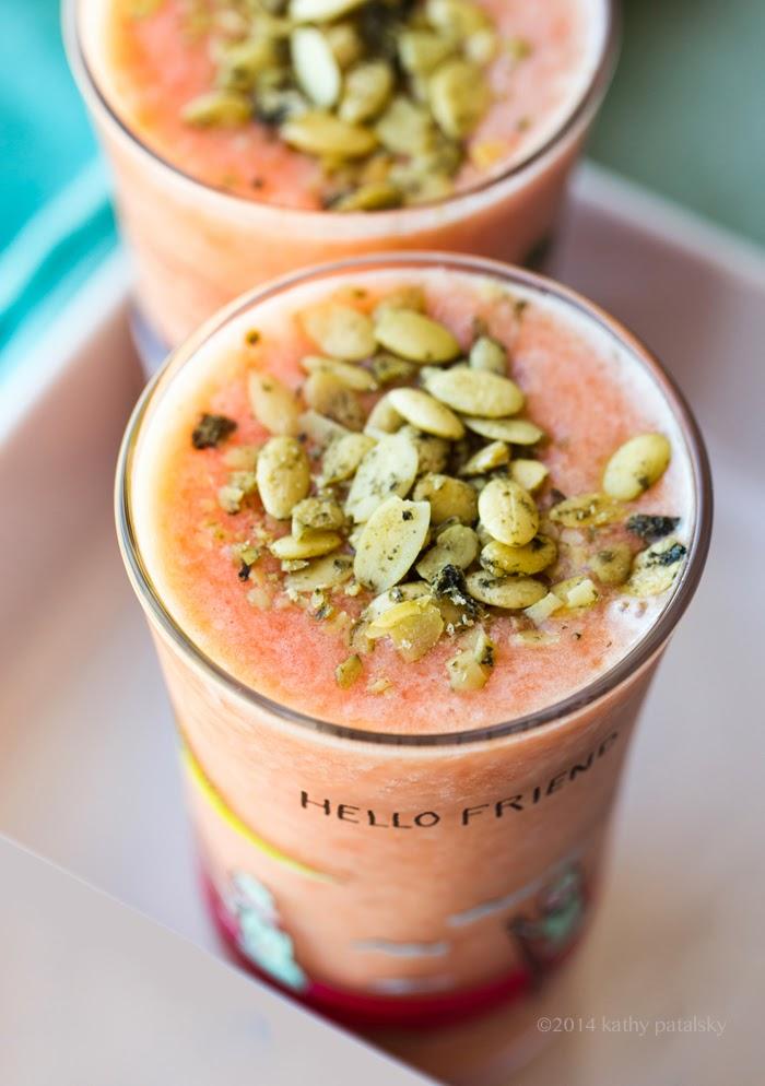 Pink Power Smoothie  Lycopene-Rich  - Vegan Recipe