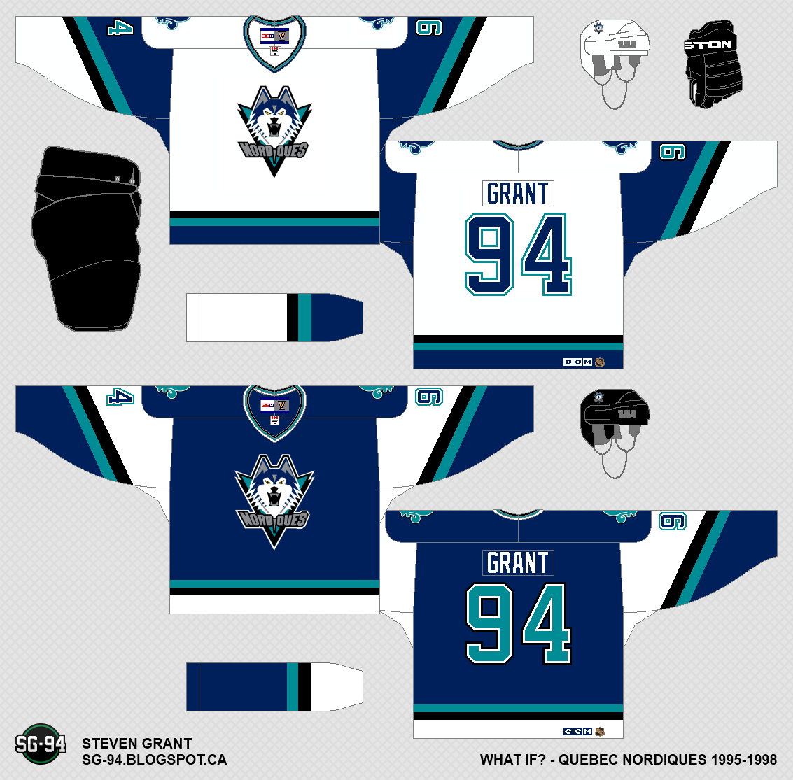 ae2b7cc84 Quebec Nordiques Jersey Concepts -- More updates added!