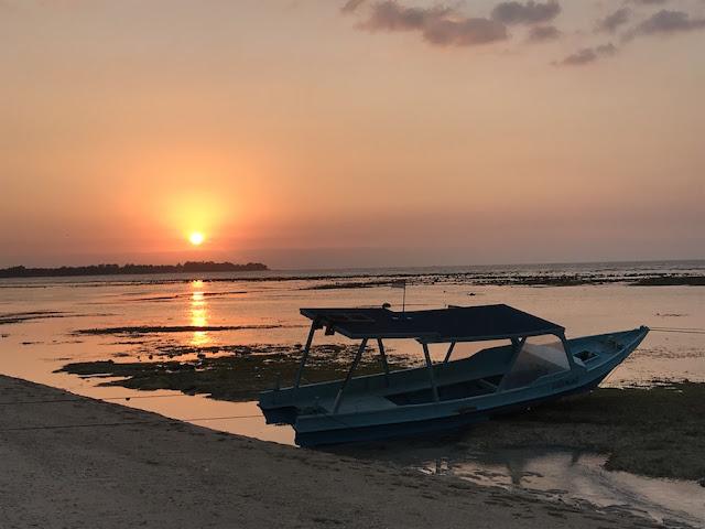 gili air dove vedere il tramonto