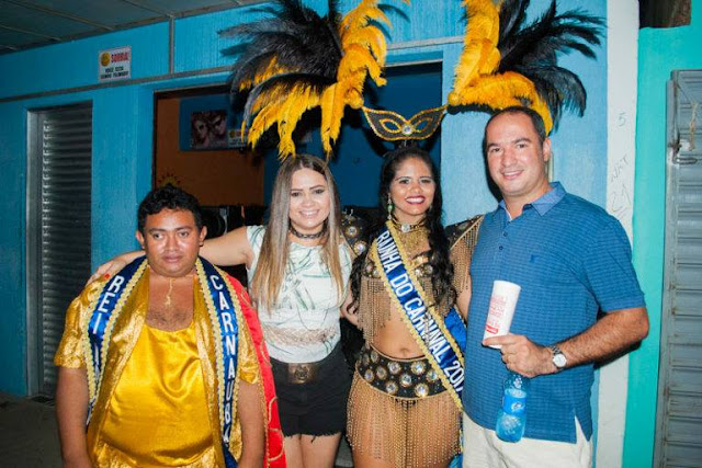 Resultado de imagem para DR. THIAGO E RAINHA DO CARNAVAL