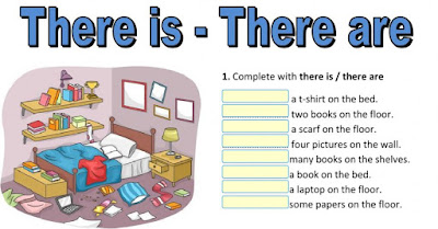 5 There Is There Are on Email English Worksheets