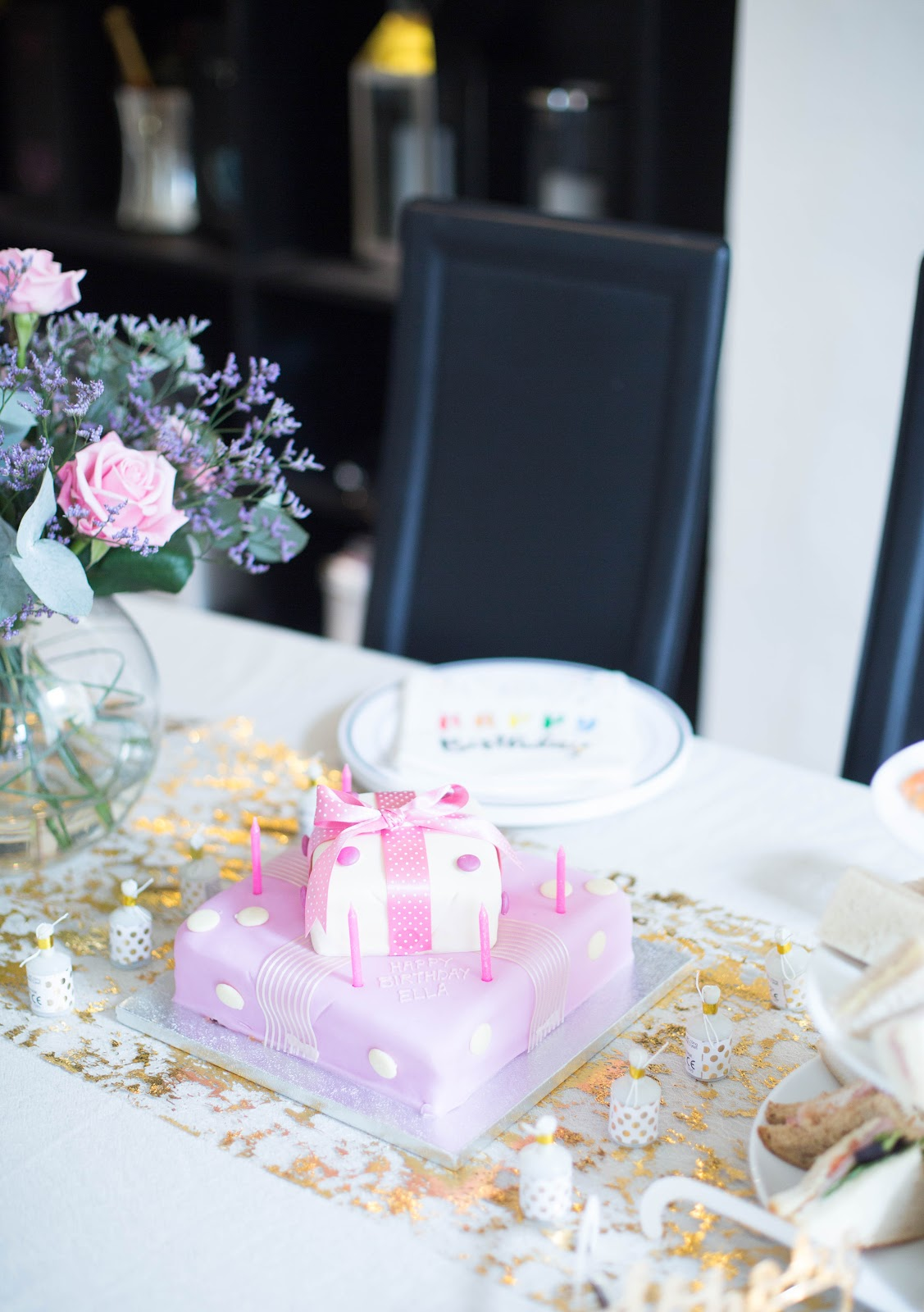 Our Pink Parcel Cake Was From Waitrose And It Definitely Tasted As Good Looked If Not Better
