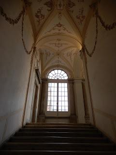 ジェノヴァのMuseo di Palazzo Realeの階段
