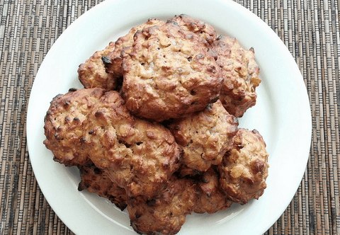 Butter cookies with oatmeal