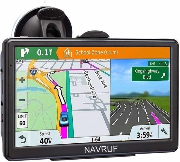 NAVRUF 7 Inch Car GPS Navigation System
