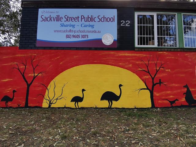 Mural at Ingleburn Public School