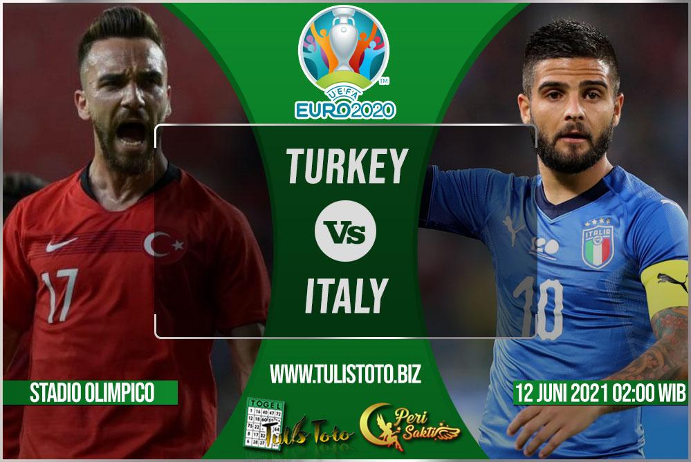 Prediksi Turkey vs Italy 12 Juni 2021