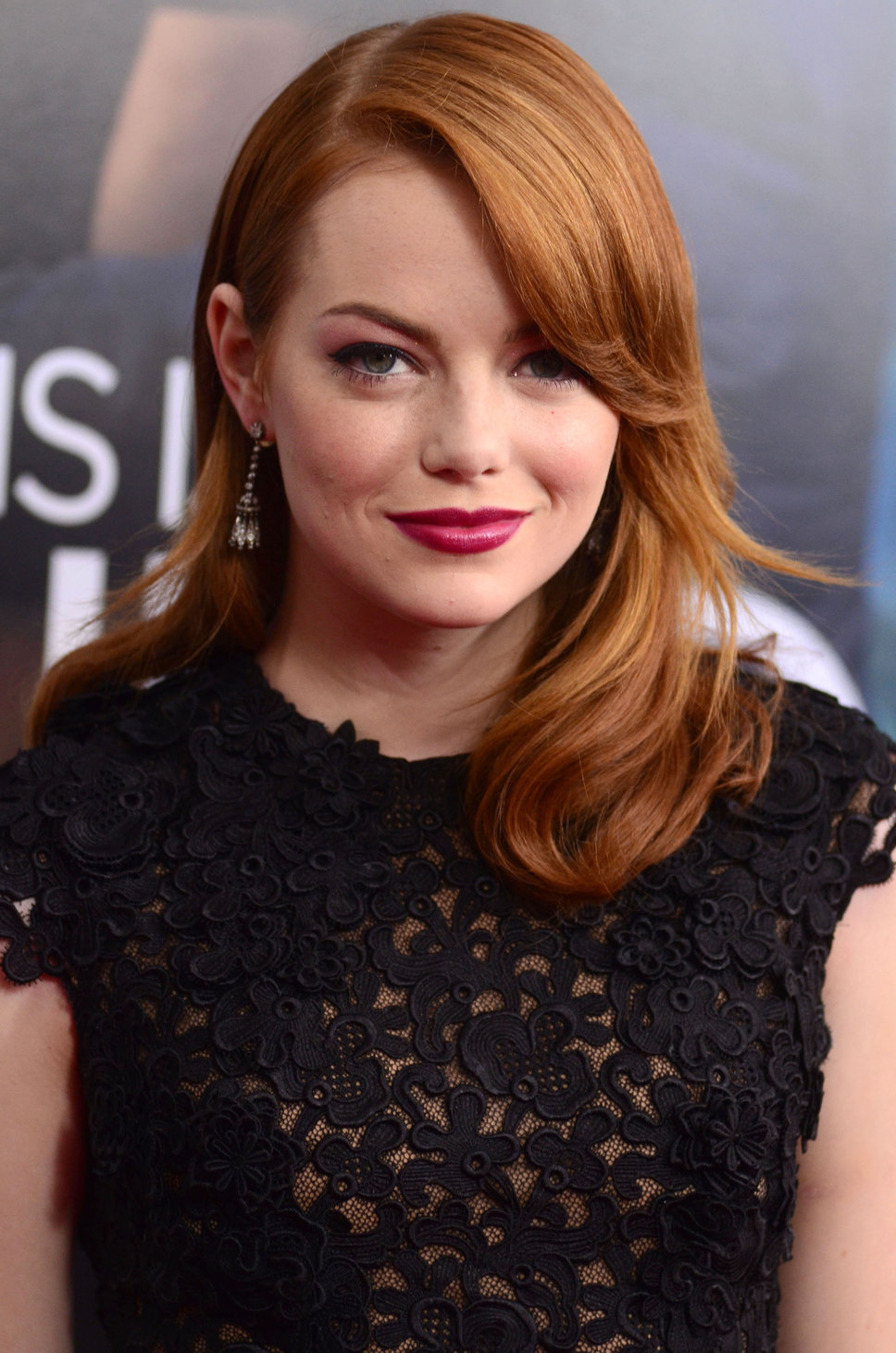 Emma Stone smokey eyes and brown hair | Makeup and Beauty ...