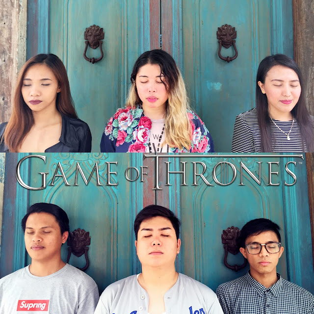 Inspired by Game of Thrones - Hall of Faces (GoT logo not mine) | Rizza Salas
