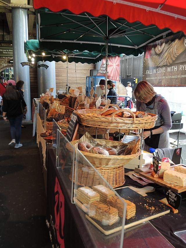 Londen:  'Borough Market' en nog meer Street Food....