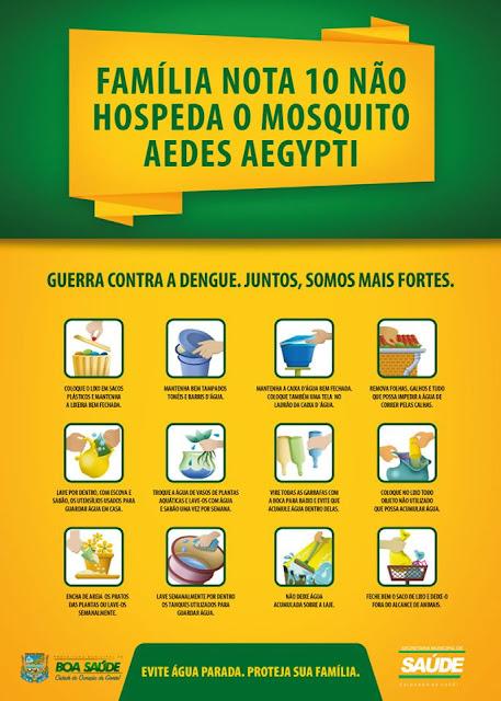 Vamos acabar com a dengue em nossa comunidade