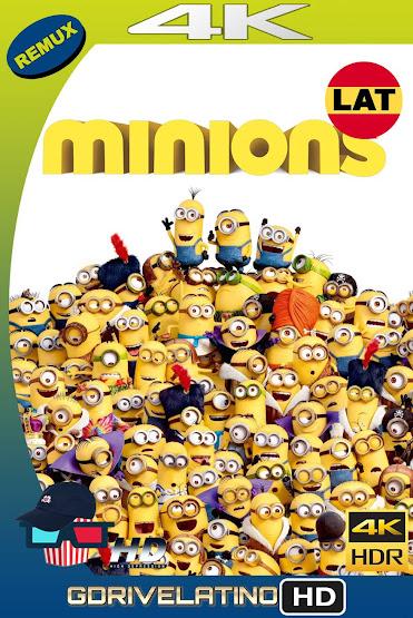 Los Minions (2015) BDRemux 4K HDR Latino-Ingles MKV
