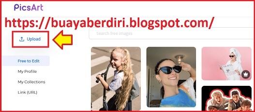 Cara Ubah Background Foto menjadi merah secara online