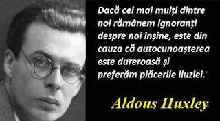 Maxima zilei: 26 iulie - Aldous Huxley