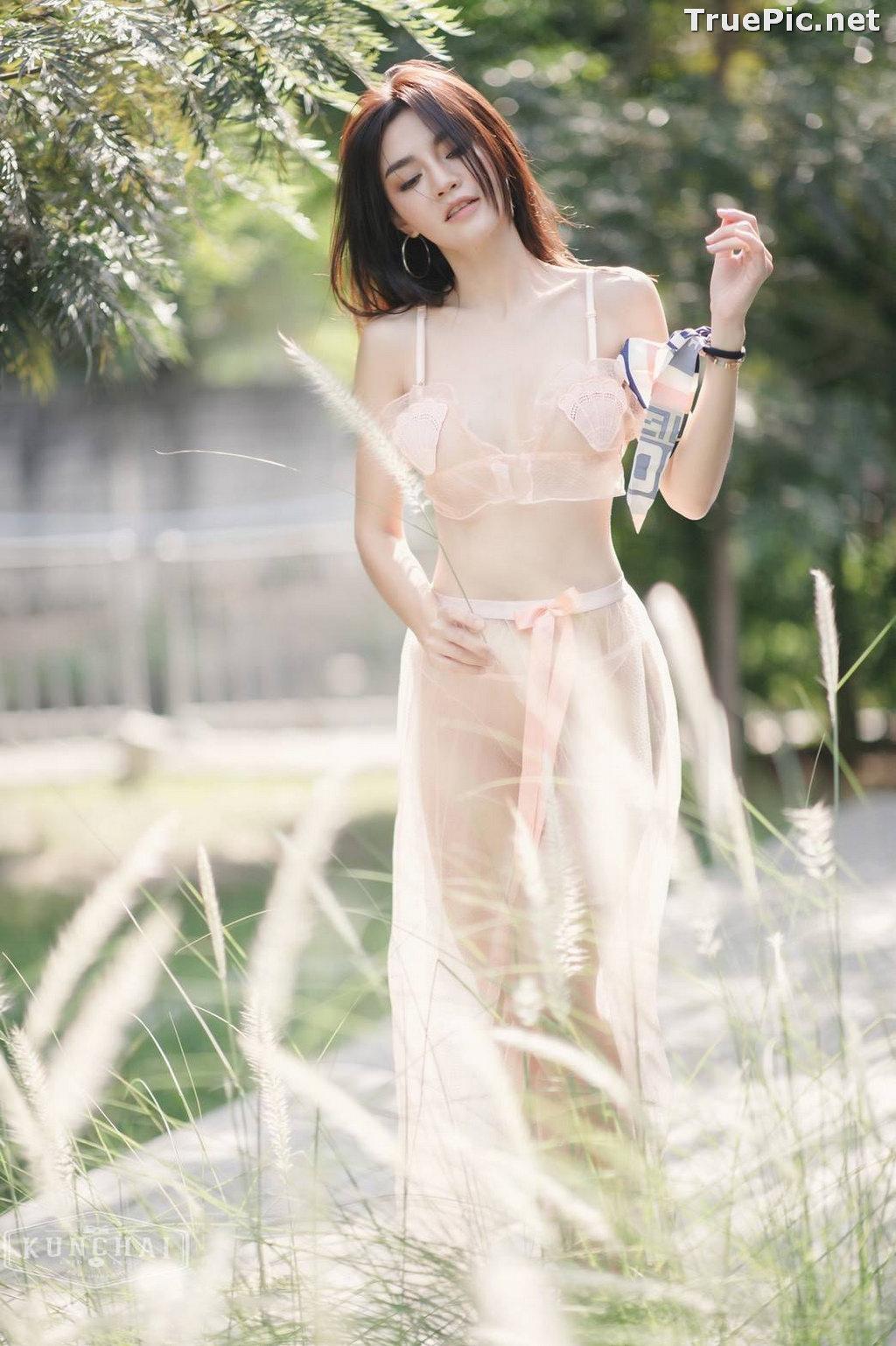 Image Thailand Model - ลฎาภา รัชตะอมรโชติ - Pink Transparent Lingerie - TruePic.net - Picture-6