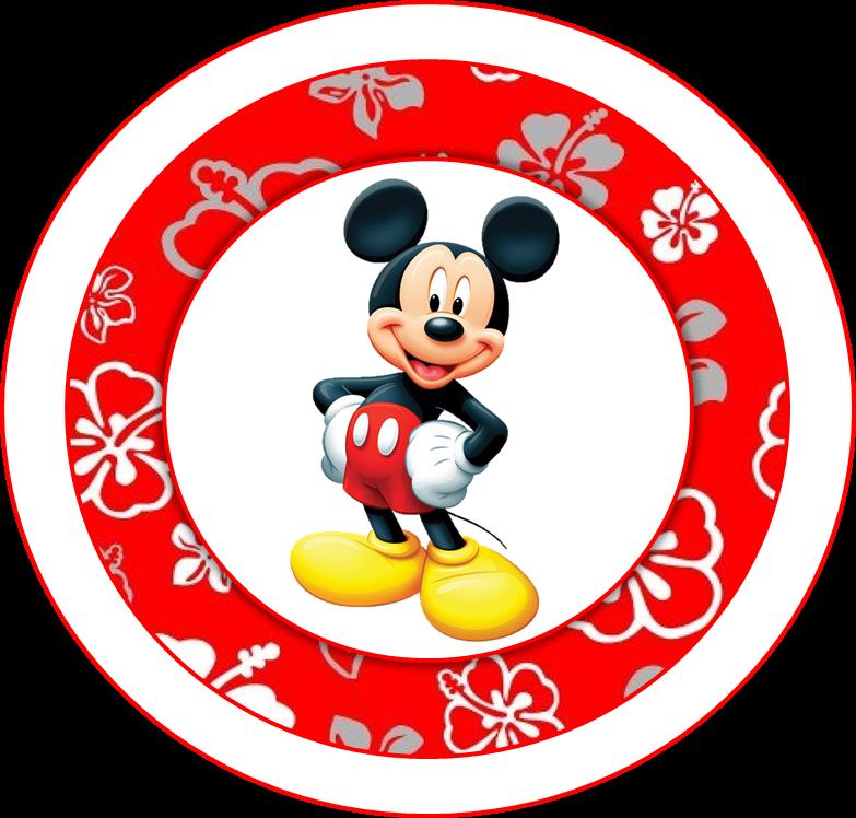 Alegre Kit de Mickey para Imprimir Gratis.   Ideas y