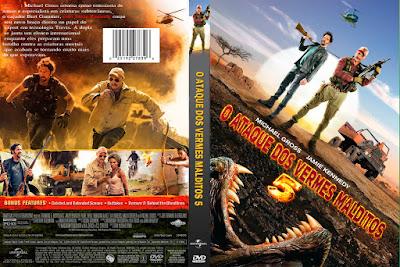 Filme O Ataque Dos Vermes Malditos 5 - Linhas de Sangue DVD Capa