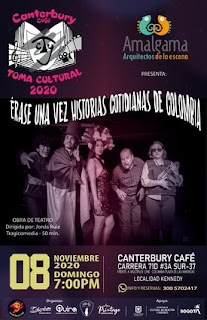"""""""Érase una vez Historias Cotidianas de Colombia"""" por Amalgama Teatro"""