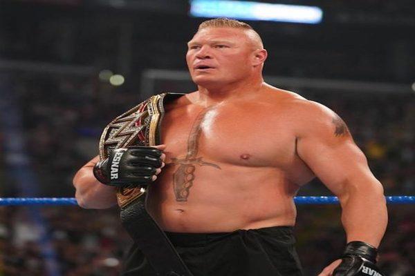 نجم في NXT قد يكون خصم بروك ليسنر في رويال رامبل 2020