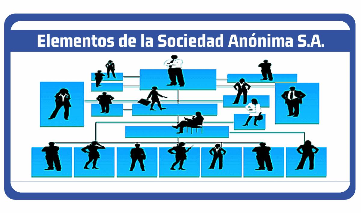 elementos de la sociedad anonima