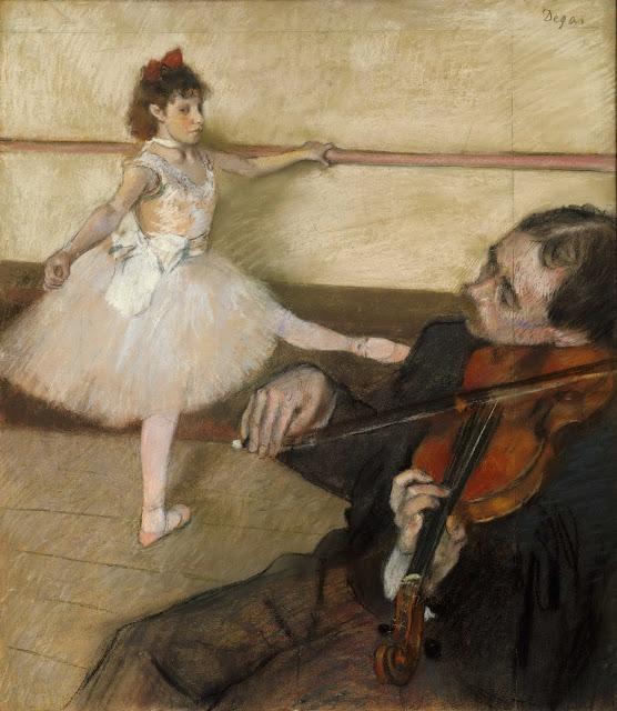 Эдгар Дега - Урок танца (1879)