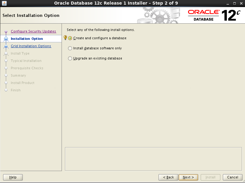 Installing and Creating Oracle Database 12c on OEL 6 4