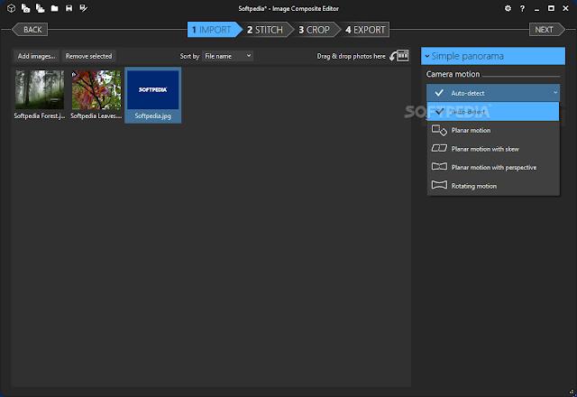 تحميل اسهل برنامج لاضافة التأثيرات على الصور Image Composite Editor 2.0.3.0