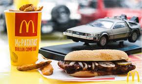 Delorean McDonalds