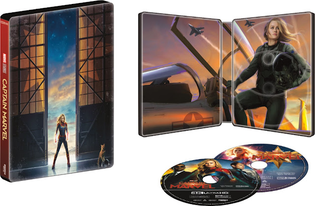 Captain Marvel Exclusive SteelBook And Movie At #BestBuy! #CaptainMarvel