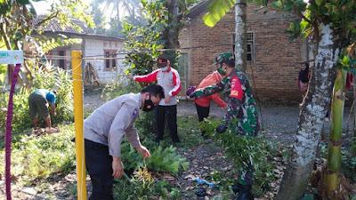 Bhabinkamtibmas Polsek Bukateja Turut Hadir Dalam Pemberantasan Sarang Nyamuk