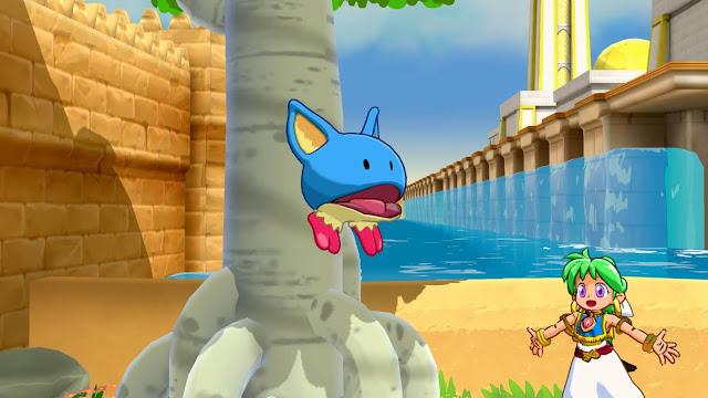 Asha in Monster World - Evolución Pepelogoo