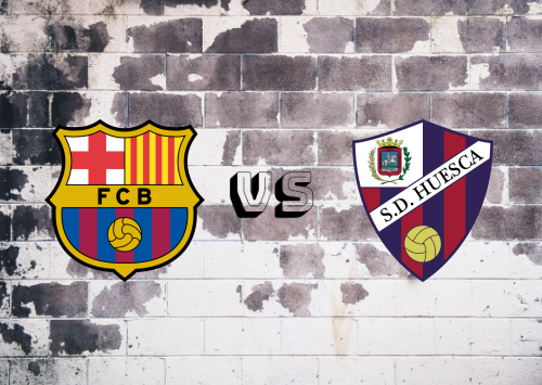 Barcelona vs Huesca  Resumen y Partido Completo