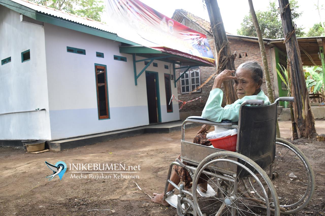 Kisah Gubuk Reot Nenek Ratinem, 'Disulap' Sedulur Kebumen jadi Rumah Layak Huni