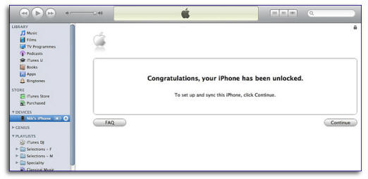 iphone unlocking verification screen iOS 6.1 / 6.0.1 Factory Unlock iPhone 5 4S 4
