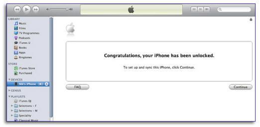 iphone unlocking verification screen Official iPhone Unlock Code ? How To Factory Unlock iPhone 5 4S 4 3GS 3G