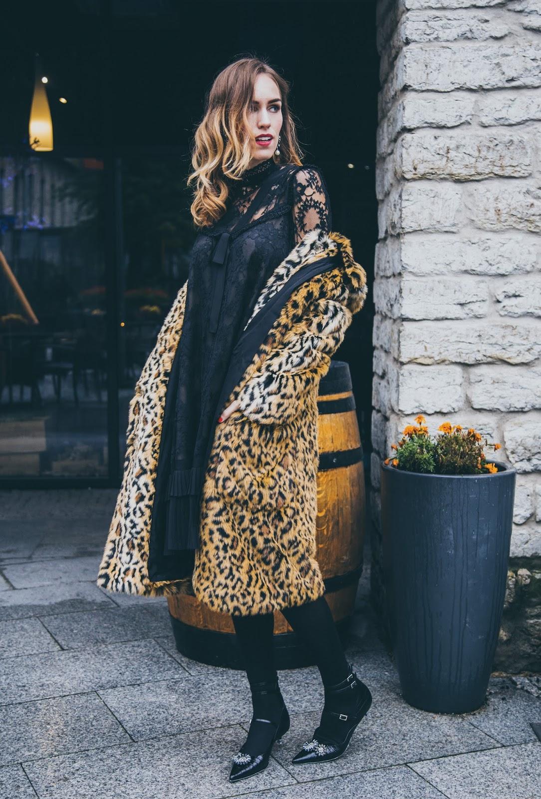 erdem x hm collaboration collection leopard coat kitten heels