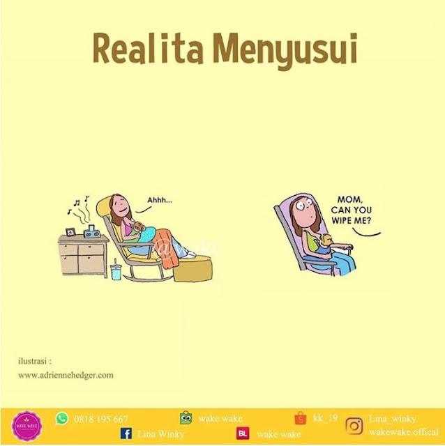 realita menyusui