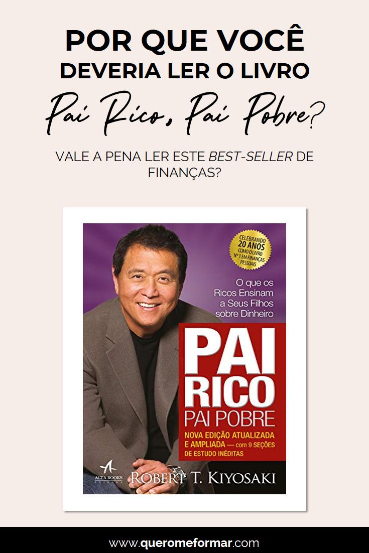 Imagens para Pinterest O Livro Pai Rico, Pai Pobre Vale a pena? Por que Você Deveria Ler Esse Livro + Download do Livro GRÁTIS