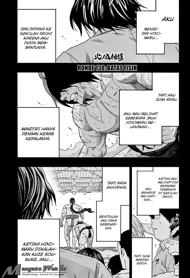 Baca Hinomaru-Zumou – Chapter 138 : Batas Fisik